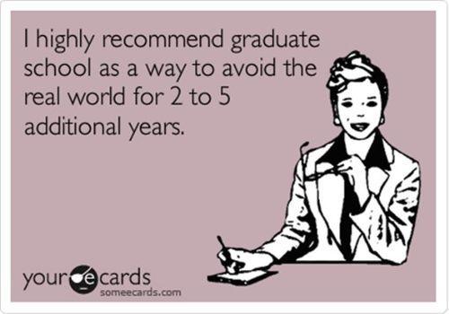 Graduate school | My Lesson in Motivation