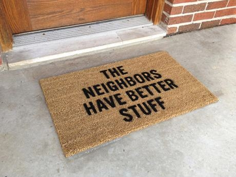neighbor doormat