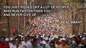 Pissed off runners