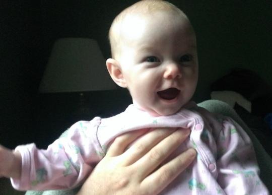 baby girl 6mo