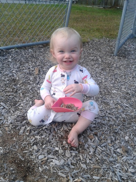 I can't believe she's already 16 months old!